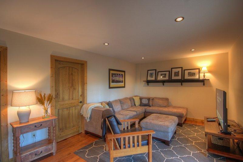 camera familiare più basso livello con Smart TV e Bluray Player