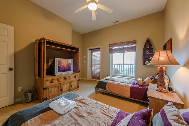 Meadow View al piano di sotto camera da letto