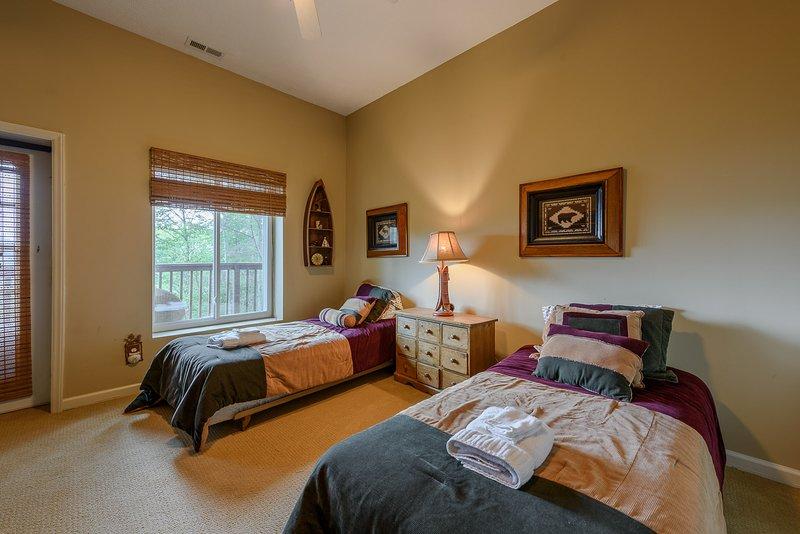 Seconda camera da letto al piano inferiore