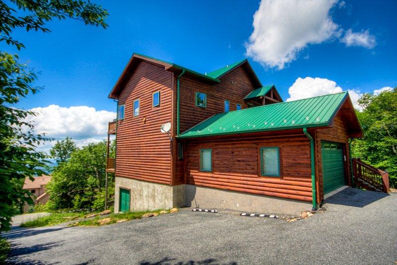 Top Lodge de montaña Vista de costado, plaza de aparcamiento