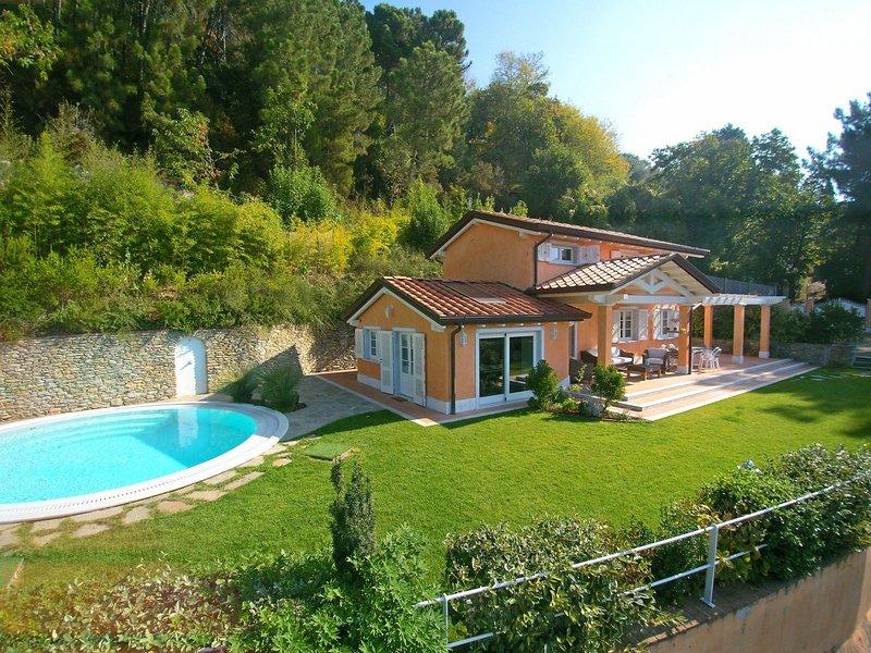 Villa Strettoia, holiday rental in Ripa-Pozzi-Querceta-Ponterosso