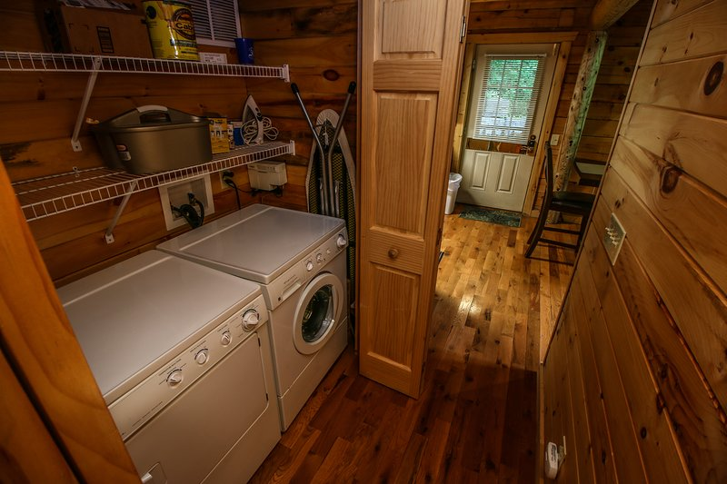 Twin Hollows Washer/Dryer combo in closet