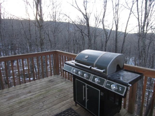 Beech Bear Retreat Grill e Deck com vista privada arborizada