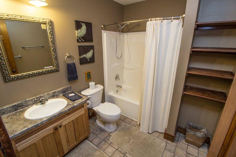 baño de nivel inferior