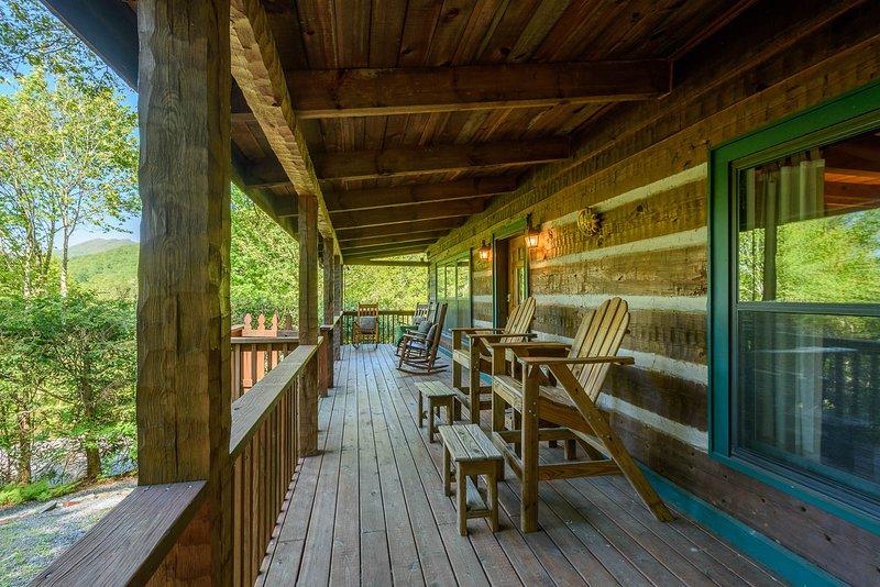 Front Porch, Relaxe e aproveite a vista