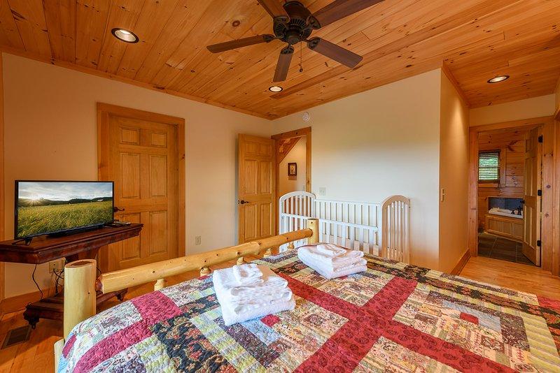 King Master Suite on Main Floor