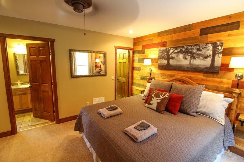 Dormitorio principal rey