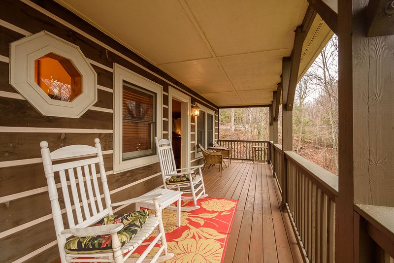 Appalachian Breeze toda la cubierta de la longitud de la casa