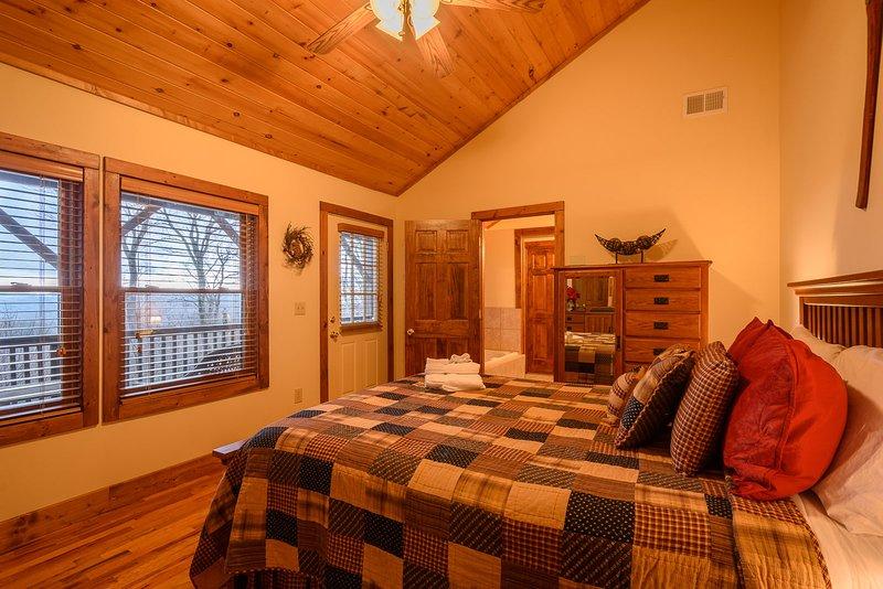 Appalachian Breeze Main Floor Master Suite