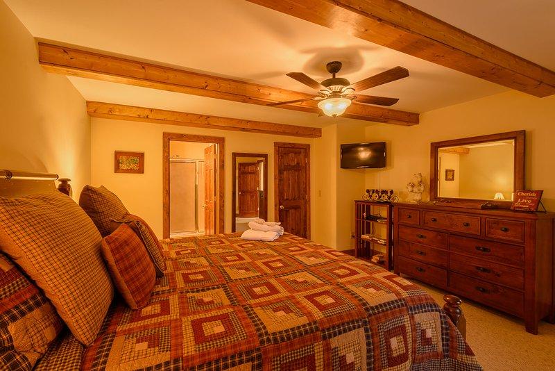 Appalachian Breeze primer piso dormitorio principal
