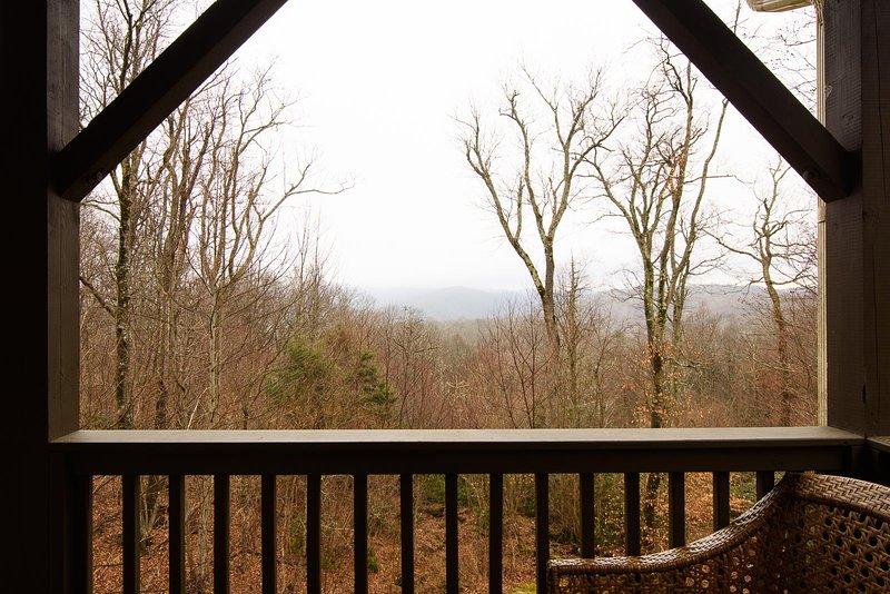 Appalachian Breeze View from Deck