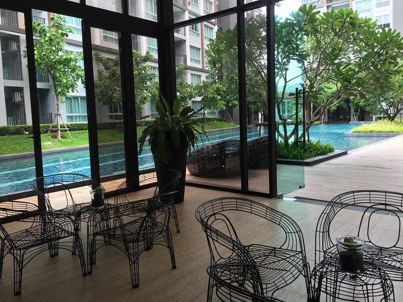 Pool-Cafe-Umgebungs