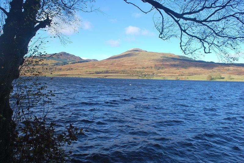 Walk to Loch Venachar from your cottage door.