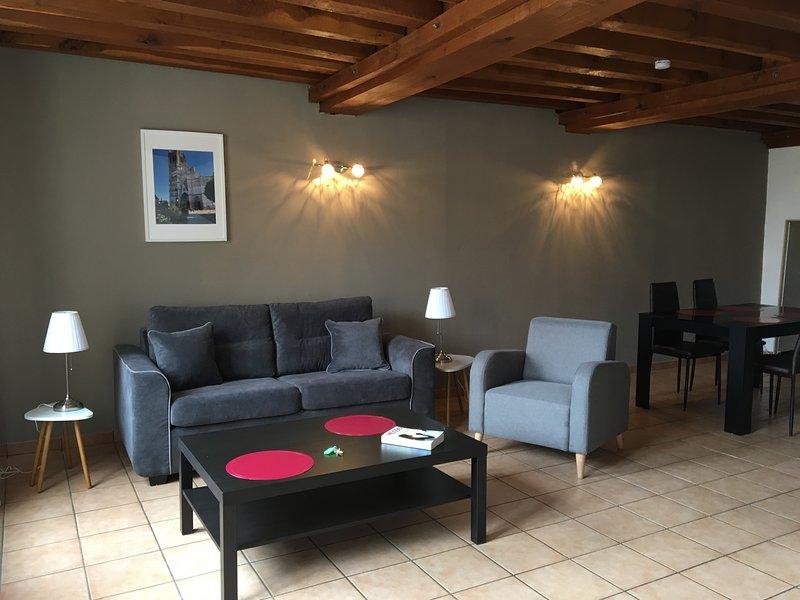 Appartement Le Saint-Nicolas Auxerre Les Quais, holiday rental in Chablis