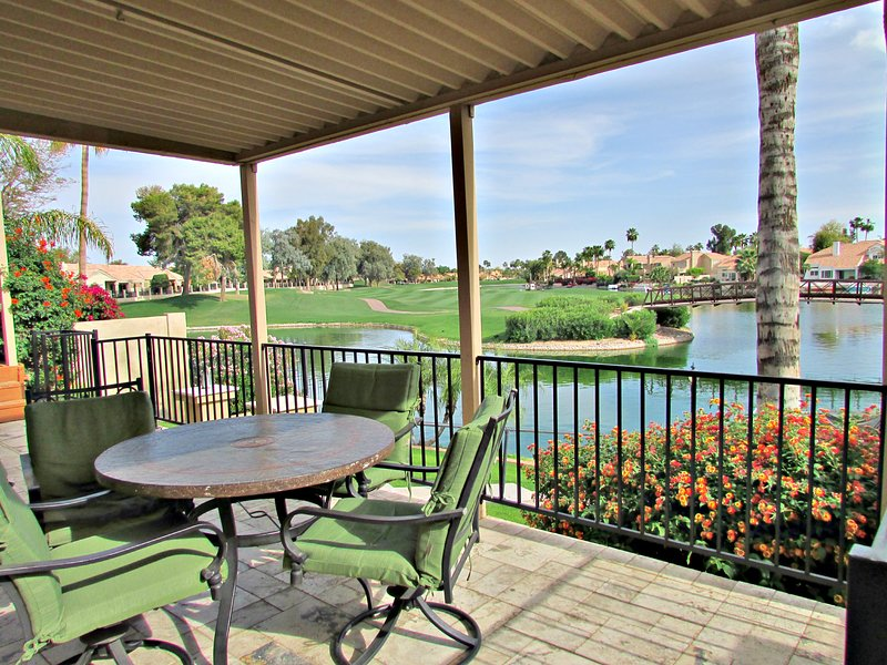 Amazing golf course, lake views from back patio and deck