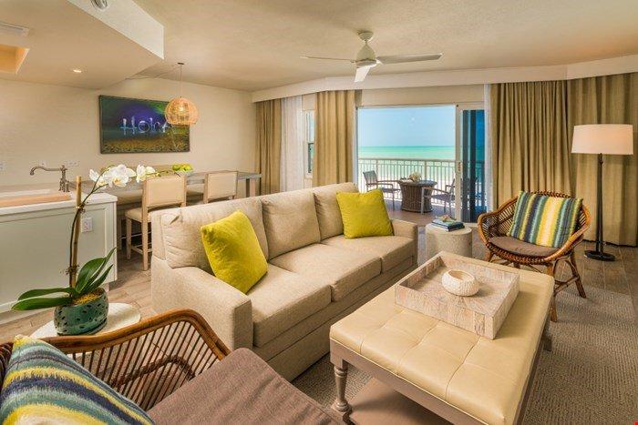La nostra bella e luminosa suite offre una vista mozzafiato sul Golfo del Messico e St Pete Beach!