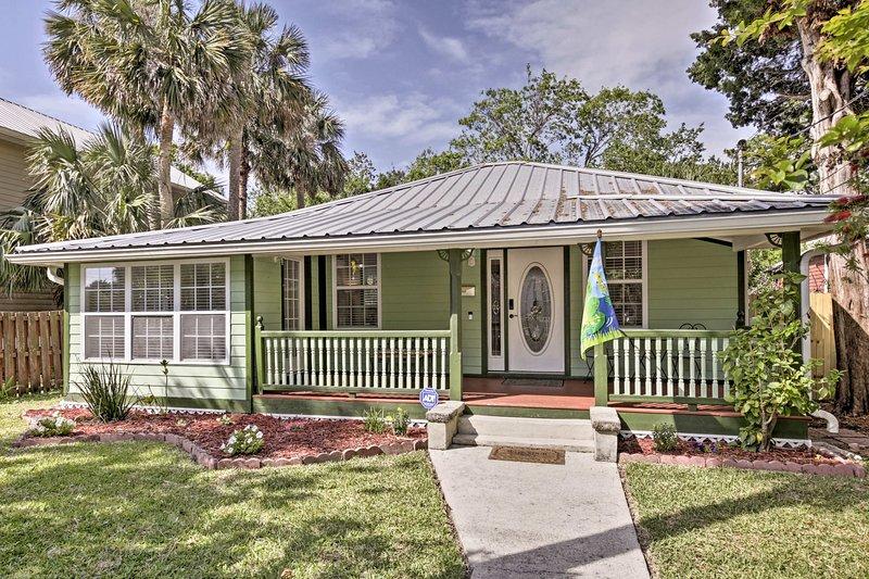 Explorer « la ville la plus ancienne aux Etats-Unis » de ce bungalow saint Augustin!