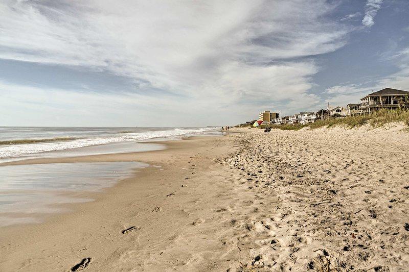 Myrtle Beach State Park está a sólo 2 millas de distancia!