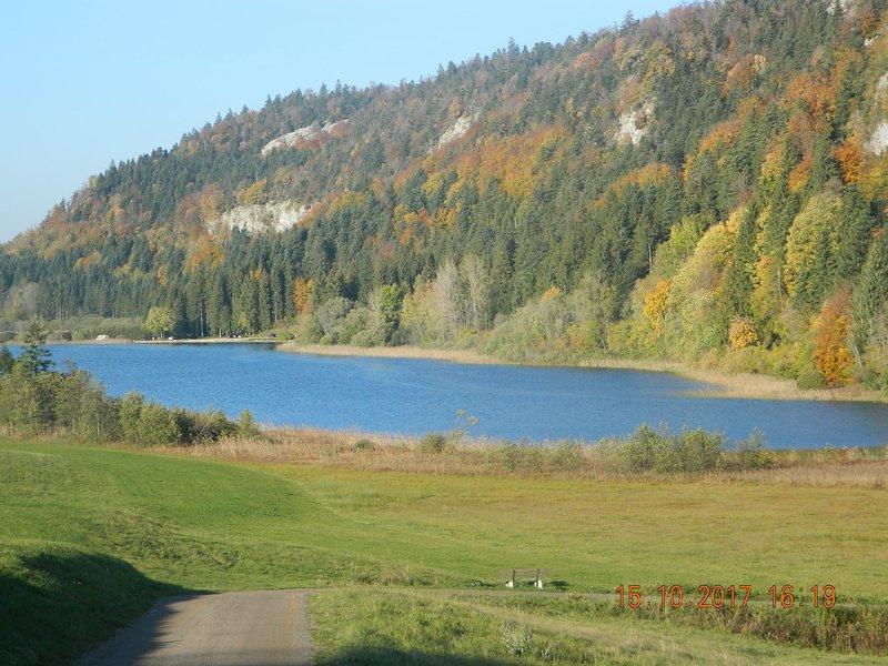 La berdie du Jura, holiday rental in Clairvaux-les-Lacs