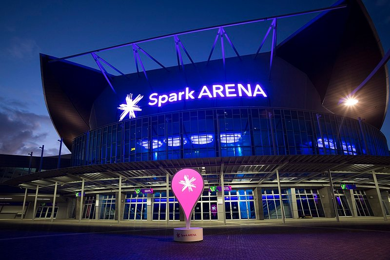 19min walk from the Spark Arena.