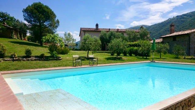 Vista do Villa Piantoni de Piscina
