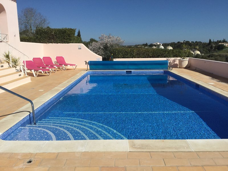 Recently refurbished swimming pool