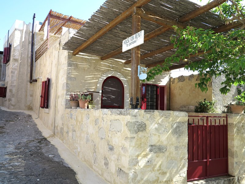 Beautiful Stone 'House Potami'  for perfect holiday in Cretan village ambience!, holiday rental in Zaros