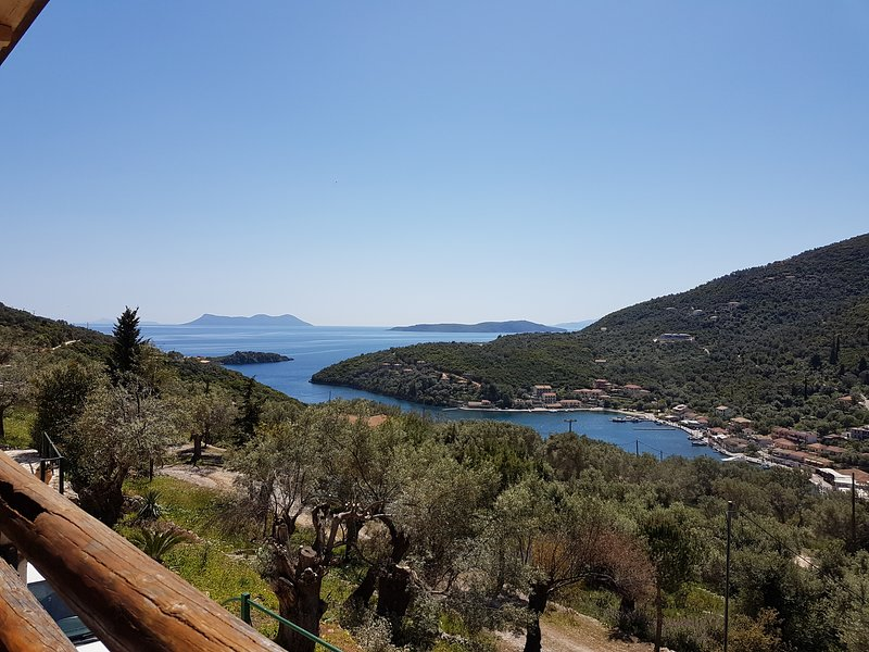 Villa Priscilla, a beautiful house nestled in the Olive Groves in Sivota, Lefkas, holiday rental in Fterno