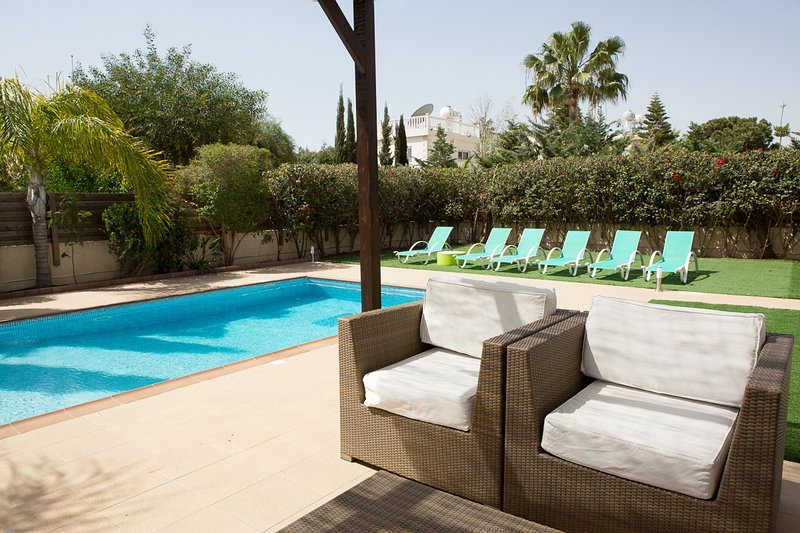 villa sofia ayia napa by the pool