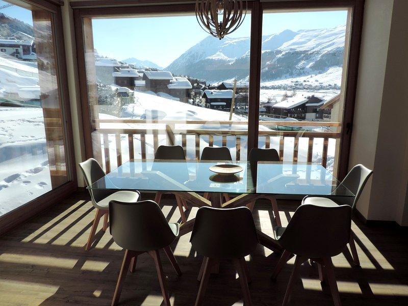 NIX Apartment Livigno | Ski ready | 8 posti | Bagno turco e Vista Panoramica, holiday rental in Teola