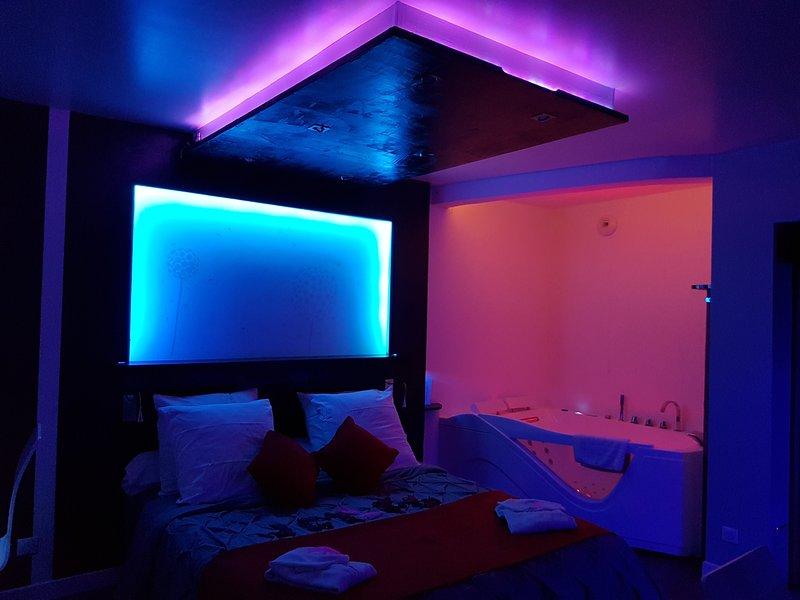 studio tout confort avec jacuzzi privé, location de vacances à Saint-Martin-d'Ablois