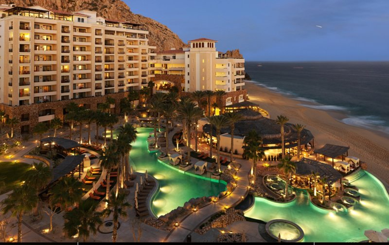 This beachfront resort is located in Cabo San Lucas, close to Cabo Dolphins, Lamds End and El Arco.