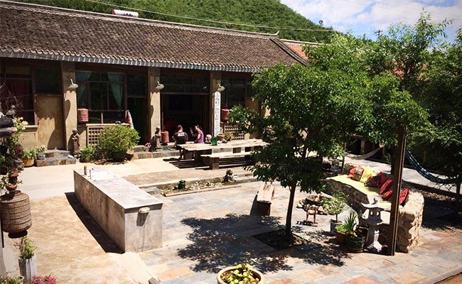 The Gung Ho Hut, Great Wall Courtyard, Ferienwohnung in Peking