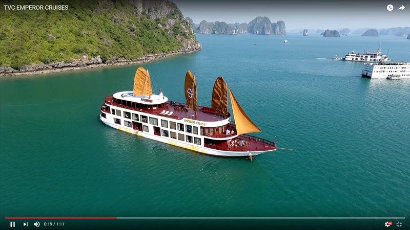 Halong emperador cruceros - Extremo de lujo 5 * Cruise