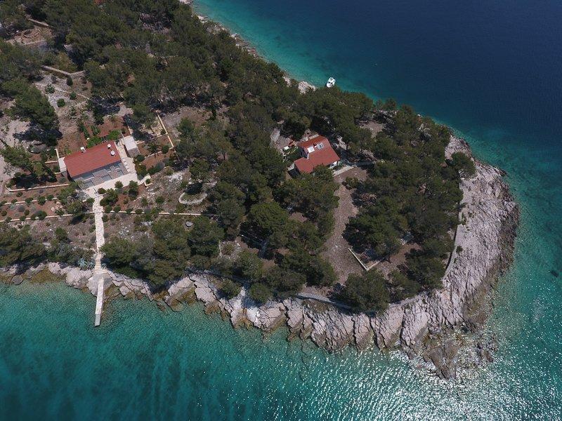 Robinson Villa Punta, holiday rental in Milna