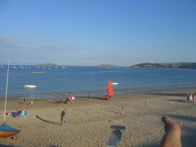 Main beach - just a few minutes walk away.