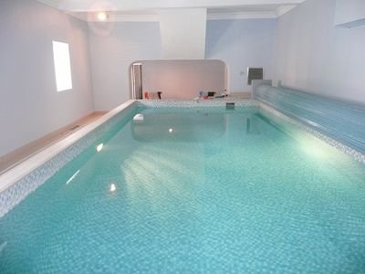 Exclusive use of private heated indoor Swimming Pool located withn the Coach House itself