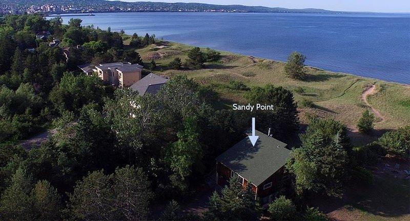 Beach House sul lago Superiore solo un miglio dal ponte di sollevamento