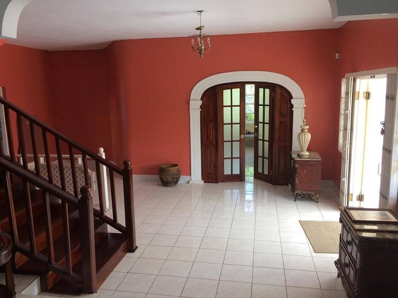 Front entrance and hallway