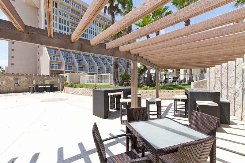 Mucho espacio para picnics en Bahia Mar