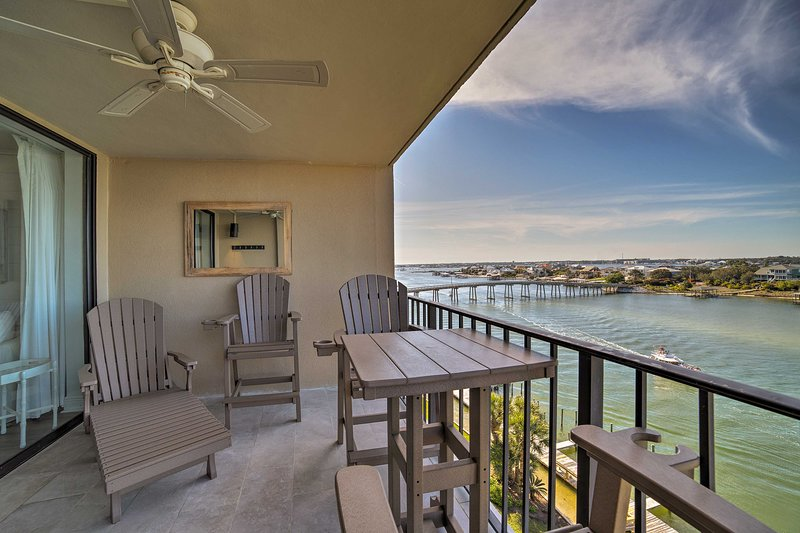 Enjoy a relaxing stay at this Orange Beach vacation rental condo!