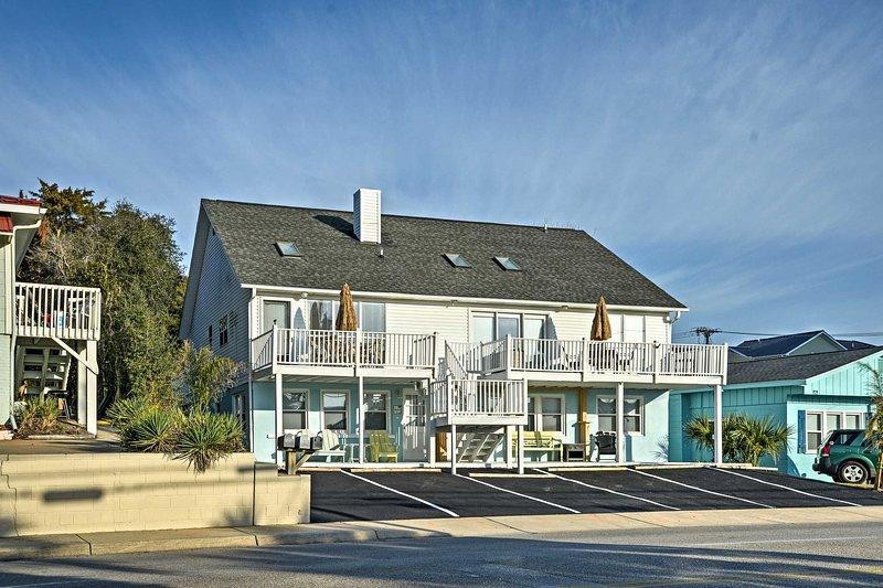 Your North Myrtle Beach getaway begins at this 5-bedroom, 2.5-bathroom home!
