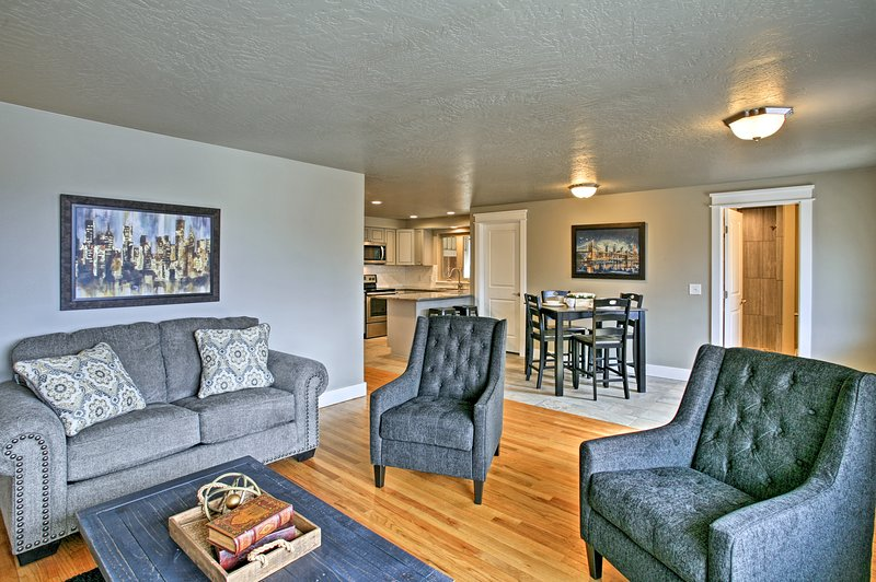 Explore the city of Spokane Valley while staying at this vacation rental home!