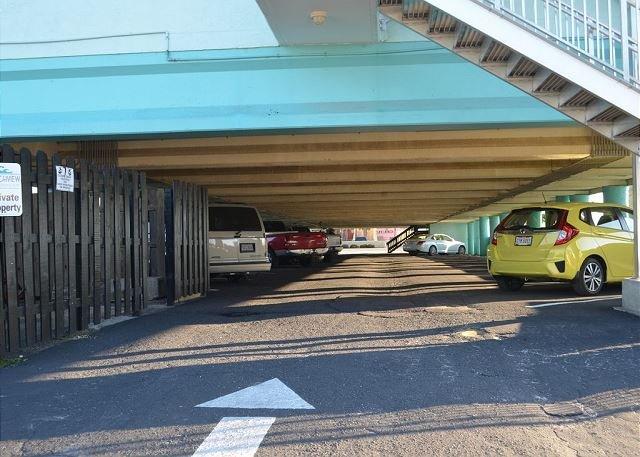 parking garage at Beachview