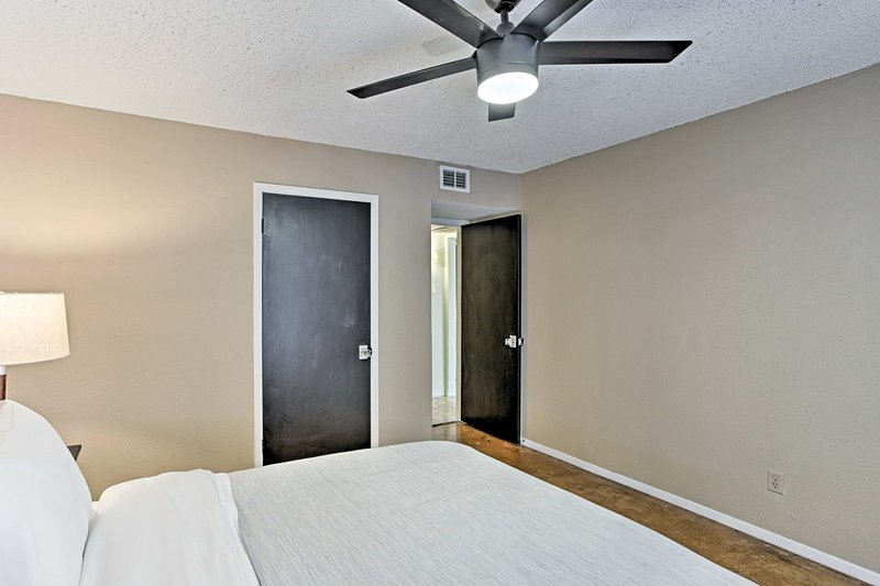 Find ample closet space to store your belongings!