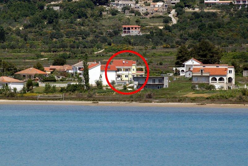 Two bedroom apartment Ljubač, Zadar (A-6244-c), holiday rental in Ljubac
