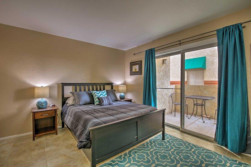 Eine erholsame Nachtruhe können Sie in der Haupt Königin Schlafzimmer.