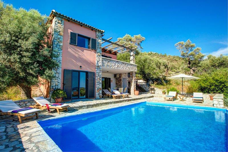 Villa Menta - SivotaBayVillas Lefkada, holiday rental in Mikros Gialos
