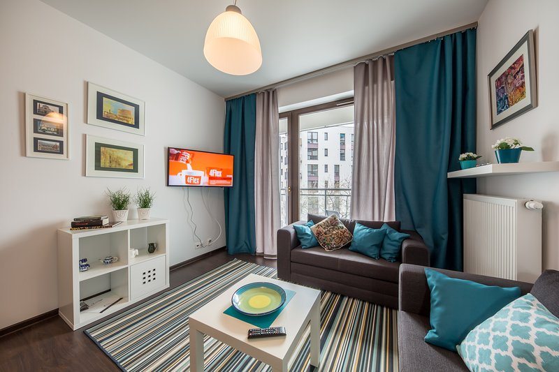 Apartment LIVING, vacation rental in Warsaw