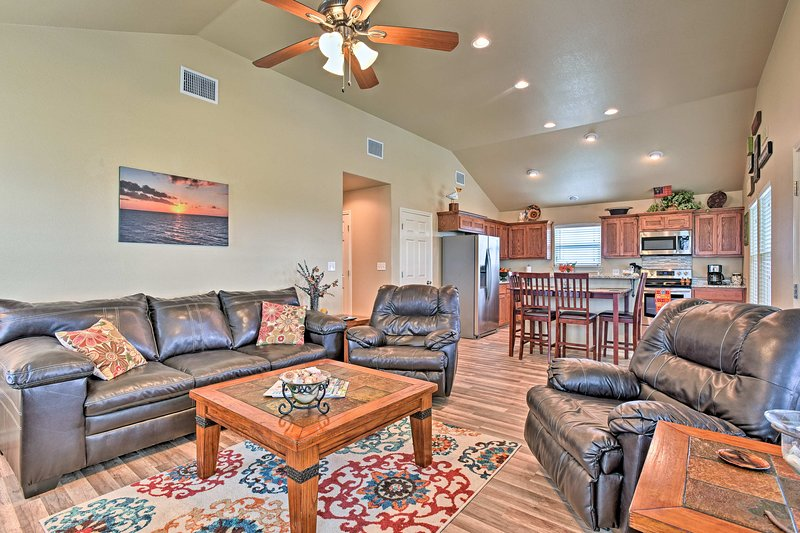 Experience the Gulf Coast from this Rockport vacation rental house!